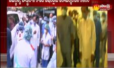 Hyderabad: CM KCR Visited Gandhi Hospital