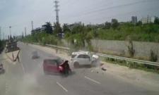 Hyderabad: Road Accident At Gachibowli