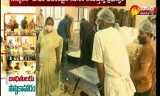 Quality food for covid victims in kurnool district