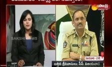 sakshi special interview with vijaywada CP Battini Sreenivasulu