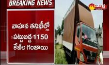heavy ganja seized in vishakapatnam