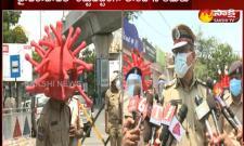 Strict lock down implementation in Hyderabad
