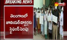 Telangana Government Increases 15 Per Cent Stipend For Junior Doctors