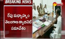 Telangana cabinet meeting on lockdown