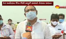 TDP leader Anjaneyulu is doing high drama just for publicity