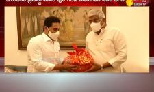 Delhi: CM YS Jagan Meet Gajendra Singh Shekhawat