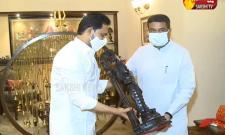 AP CM Jagan Meets Central Minister Dharmendra Pradhan