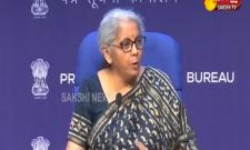 Finance Minister Nirmala Sitharaman Press Meet