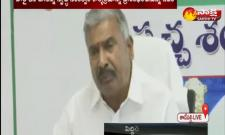 Minister Peddireddy Ramachandra Reddy Video Conference With Village Sarpanches