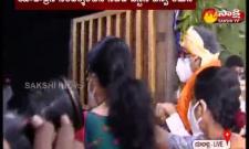 CJI NV Ramana visits to yadadri  Lakshminarasimhaswamy