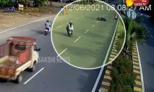 Road Accident At Rayadurgam