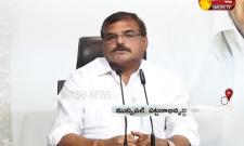 Minister Bosta Satyanarayana Press Meet At Tadepalli