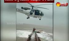 Coastguard rescues  from  ship
