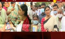 YS Sharmila Visited Medak District