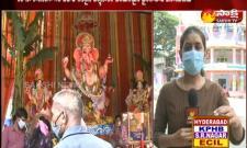 This Year Khairathabad Ganesh As Ekadasi rudra mahaganapathi