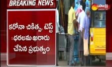 Telangana government has finalized the prices of corona treatment and test