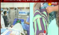 Mariamma's son is being treated at Khammam Hospital