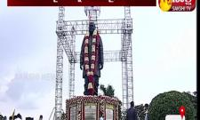 Hyderabad: CM KCR And Governor Tamilisai Inaugurates PV Statue At PV Ghat