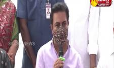 Minister KTR  Inaugurates Four Link Roads In IT Corridor