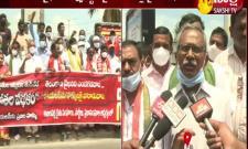 YSR district farmers' blamed Telangana attitude