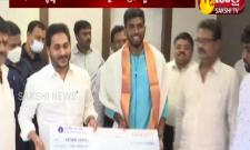 AP CM YS Jagan Wishes To Tokyo Olympic Participated Players In Japan