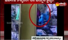 Covid patient  suicide attempt in visakhapatnam KGH hospital