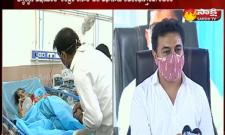 Minister KTR Visits Teams Hospital In Hyderabad
