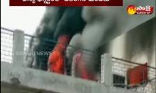 Uttar Pradesh: Fire Accident At Moradabad