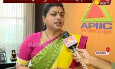 RK Roja Face To Face With Sakshi