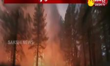 Powerful fire tornado in California