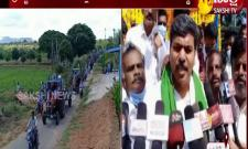 Tractor  Rally For Thanks To  CM Jagan: Puttaparthi