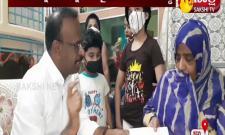 Ys Jagan Mohan Reddy Helps Corona Attacked Family