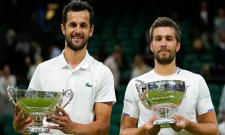 Wimbledon 2021: Croatian Duo Nikola Mektic, Mate Pavic Wins Mens Doubles Title - Sakshi