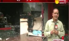 fire accident in vishaka textile shop
