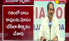Andhra Pradesh Minister Kurasala Kannababu Pressmeet