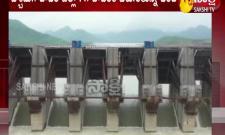 Rising flood flow in Godavari