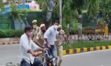 Revanth Reddy Fires On Police And Shares Video In Twitter