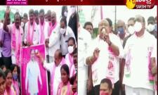 Celebrations in Huzurabad on the Dalit Bandhu scheme