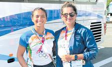Tokyo Olympics: Sania Mirza- Ankita Has Crictical Draw In Doubles Tennis - Sakshi