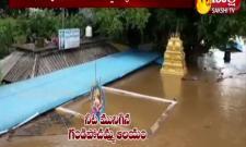Gandhi Pochamma Temple In Water
