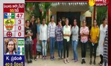 Group Of Women From Gujarat Hulchul In Parvathipuram Roads
