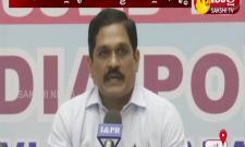 Krishnababu Press Meet About Roads Development