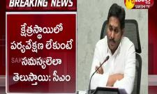 CM YS Jagan Serious On Officers