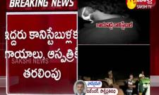 sand mafia attack on police at Jagtial district
