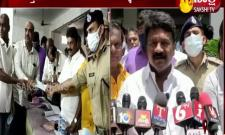 Minister talasani srinivas yadav visited temples in old city