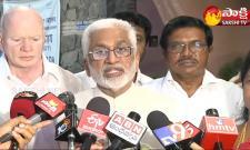 MP Vijayasai Reddy With Media Over Centre Decision On Polavaram
