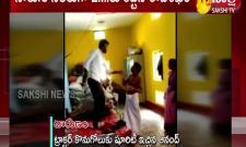 anand beaten up by rajashekar in chittoor