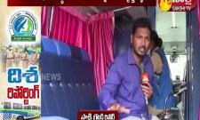 sakshi ground report on disha four wheeler