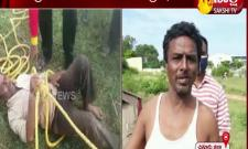 Chittoor: Fire crew rescued a man who fell into a well while talking on the phone