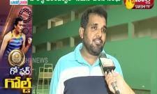 Celebrations in Pullela Gopichand Badminton Academy in Hyderabad